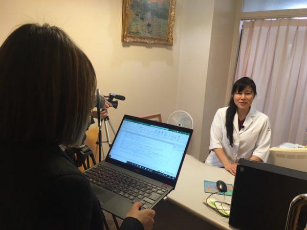 八田真理子先生に取材しました!